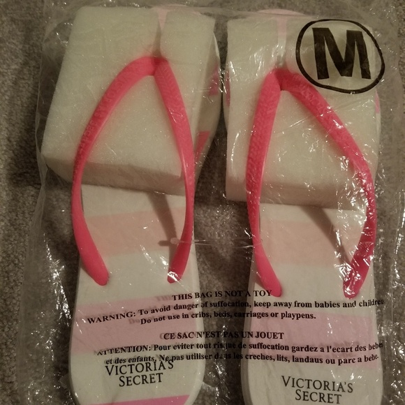 Victoria's Secret Shoes - Victoria Secret Flip Flops